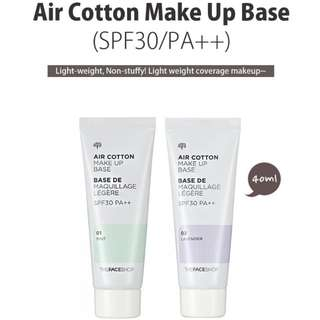 Faceshop Air Cotton Makeup Base