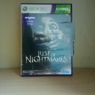 Rise Of Nightmares Kinect Xbox 360