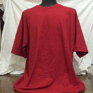 RED4 plain RARE FIND plus size men tshirt 4xl