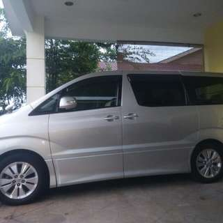 Alphard 2.4 auto ( cash only)