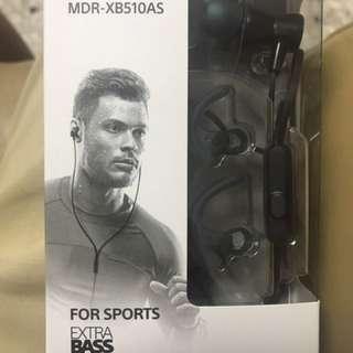 Sony sports earpiece: MDR-XB510AS
