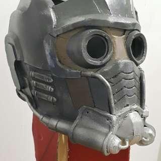 Star lord cosplay helmet