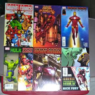 MARVEL COMICS VARIOUS TITLES ONE-SHOT CHEAP SET PRICE