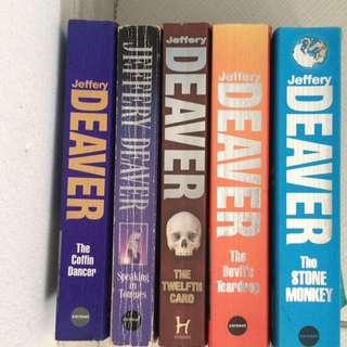 Jeffery Deaver set of books