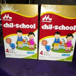 Chil school rasa vanila 4-12 tahun 800 g