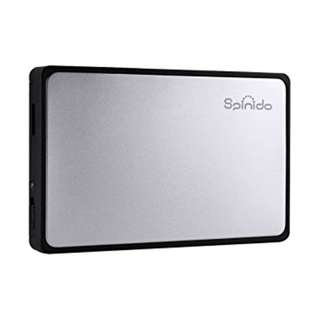 Spinido 3.5 inch HDD Enclosure (Silver)