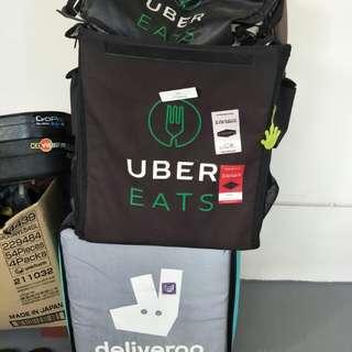 UberEats Deliveroo Bags