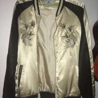 BOMBER JAPNESE EMBROIDERY JACKET