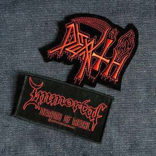 USA Made Immortal Iron On Patch