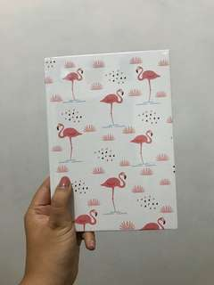 Harvest Flamingo Notebook