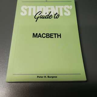 Student's Guide to Macbeth