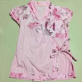 Cheongsam Pink Blouse