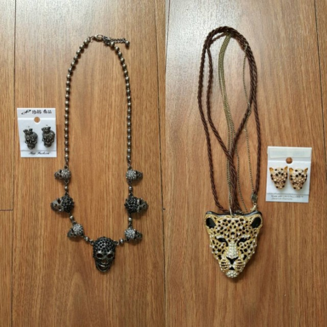 1 set Necklace and Earring