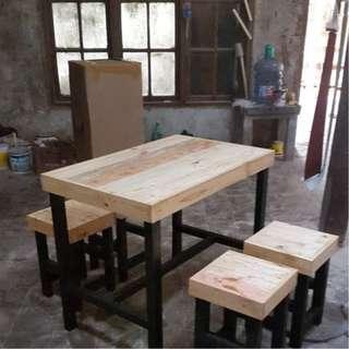 meja kursi cafe dan resto