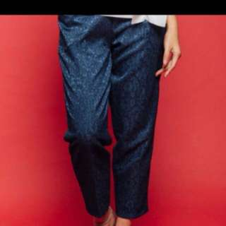 New Hunan Pants Cotton Ink