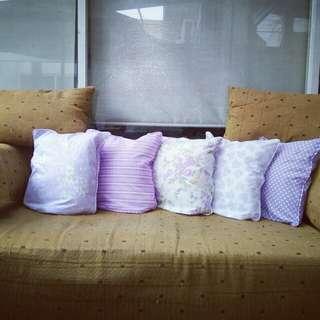 Bantal + sarung bantal sofa