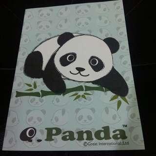 熊貓筆記簿