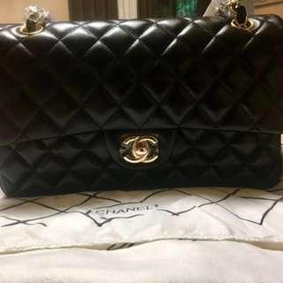 Chanel Classic Medium Double Flap Lambskin GHW