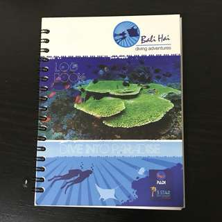 Scuba Dive log book