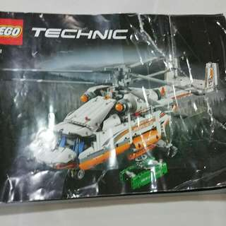 Heavy Lift Service Helicopter Lego 42052