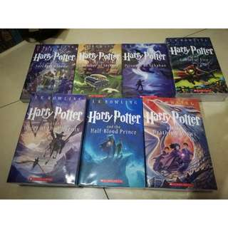 Brand New Harry Potter Book Set