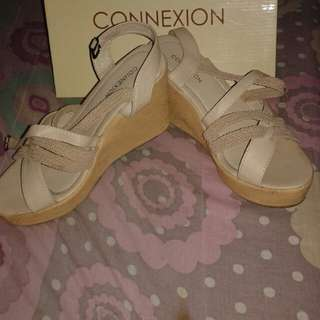 Connexion shoes wedges