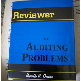 Reviewer in Auditing Problems by Ocampo