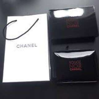 BN Authentic Limited Edition Chanel Rouge Noir cosmetic pouch