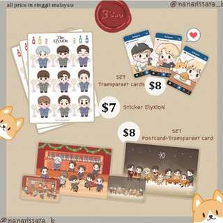 EXO Sticker & Cards by Nanarissara
