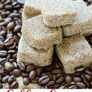 Coffee and Sugar Scrub Cubes (6pcs)