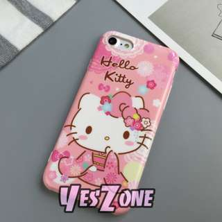 Yes Zone 獨家配件 Sanrio Hello Kitty 吉蒂貓 iphone 8 plus 7plus 全包軟殼 手機殻$119包郵 KT75