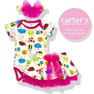 Carter's Dark Pink Tutu Set