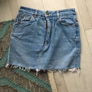 DKNY Vintage Denim Skirt