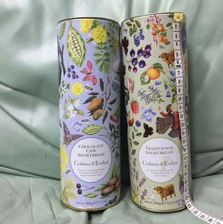 Crabtree & Evelyn tin containers