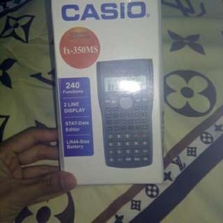 Kalkulator scientfic casio fx 350 ms (kw)