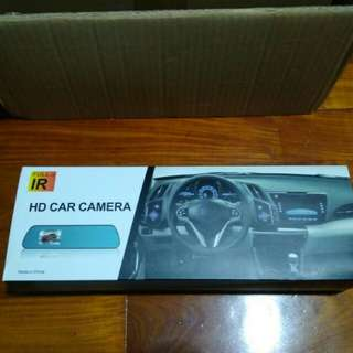 CNY Promo: In car camera HD REAL mirror recorder.