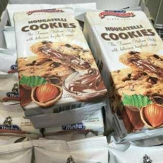 Nougatelli cookies 200g