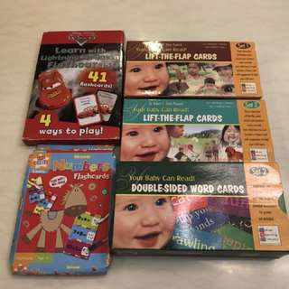 Your baby can read flash cards