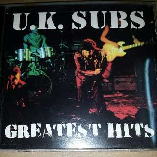 Music CD: UK Subs–Greatest Hits