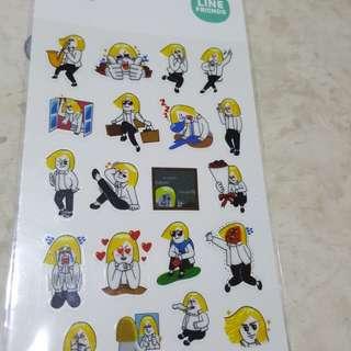Line Friends Stickers