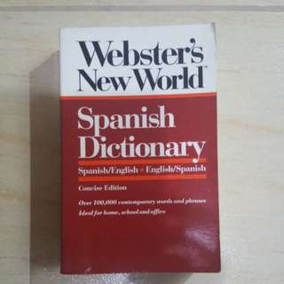 Webster Spanish Dictionary