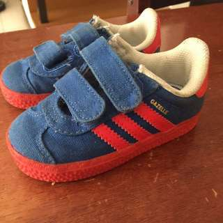 Authentic Adidas Gazelle sneakers
