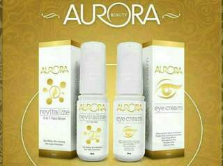AURORA Revitalize and Eye cream