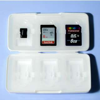 SD Card and Micro SD Card Holder