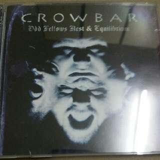 Music CD (2xCD): Crowbar ‎– Odd Fellows Rest & Equilibrium