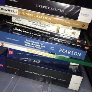 FINANCE BOOKS FOR SALE