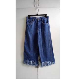 Zara Frayed pants