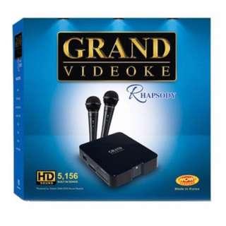 GRAND VIDEOKE RHAPSODY Rental #Free Delivery