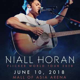 LOOKING FOR! Niall Horan Flicker Tour 2018 VVIP Standing Tickets