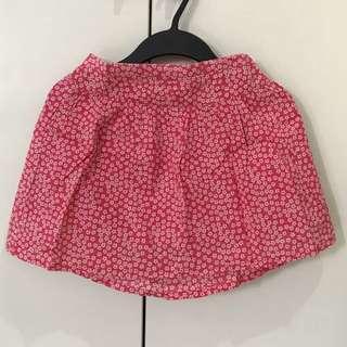 Cherokee Floral Pink Skirt